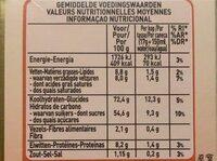 Caramelo - Voedingswaarden - fr