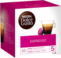 Capsules NESCAFE DOLCE GUSTO Espresso 16 Capsules - Product - fr