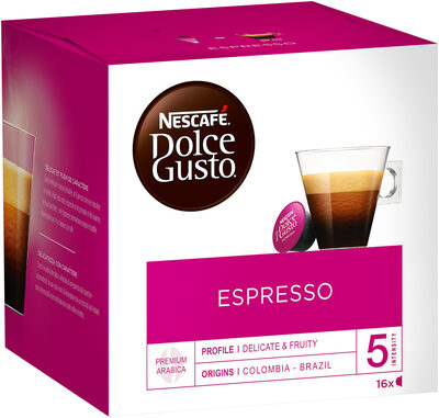 Capsules NESCAFE DOLCE GUSTO Espresso 16 Capsules - Produkt - fr