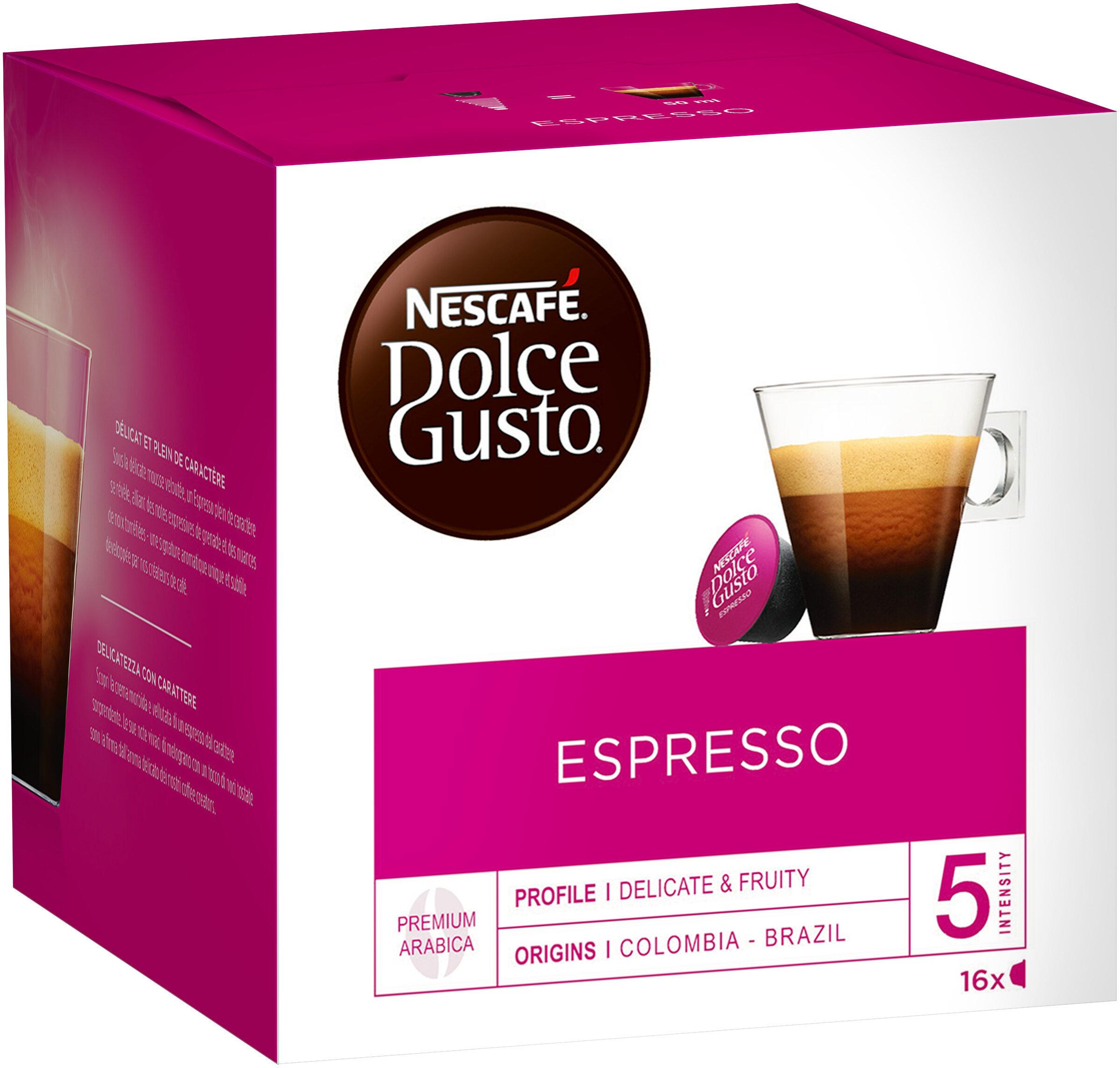 Capsules NESCAFE DOLCE GUSTO Espresso 16 Capsules - Produit - fr