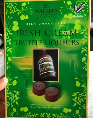 Walker Irish Cream Liq Truff 9 / 16 - Product