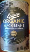Organic black beans - Product