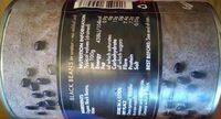 Organic black beans - Voedigswaarden
