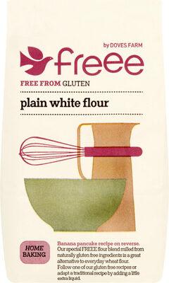 FREEE by Doves Farm Plain White Flour Free From Gluten - Product - en