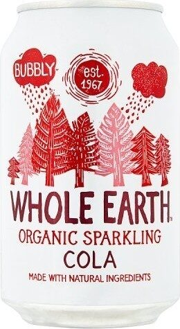 Organic sparkling cola - Product - en