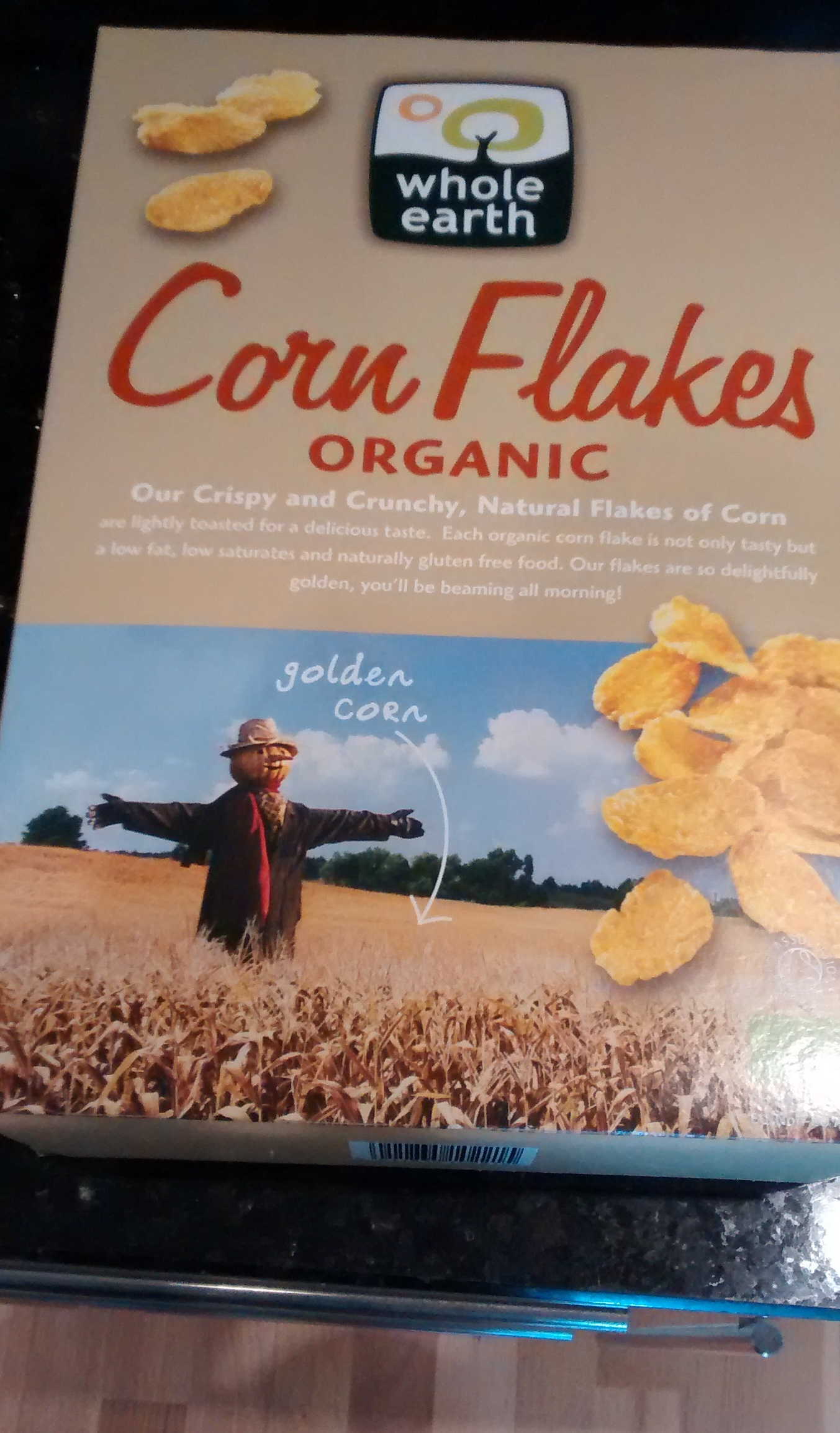 Whole Earth Golden Organic Corn Flakes - Product