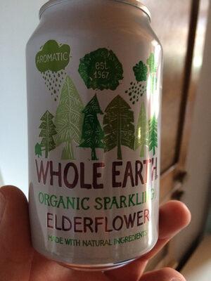 Organic sparkling elderflower - Product - fr