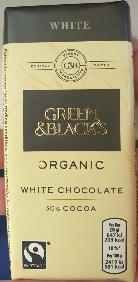 White chocolate - Product - en