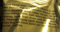 Goldbears - Ingredients