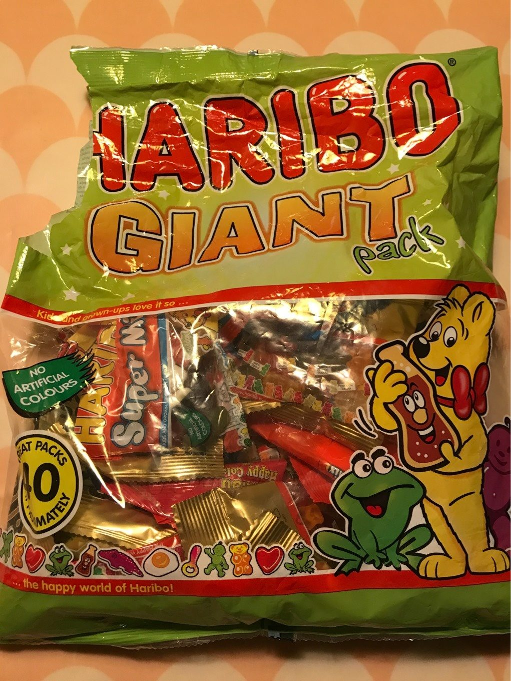 Haribo Giant Pack of Mixed Variety 1.52 KG - Product - fr