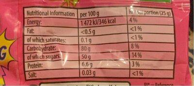 Milkybar Buttons - Nutrition facts - en