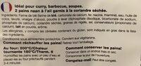 Naan Breads - Ingredients - fr