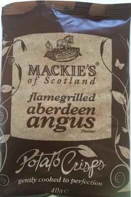 Flamegrilled aberdeen angus Potato Chips - Produit