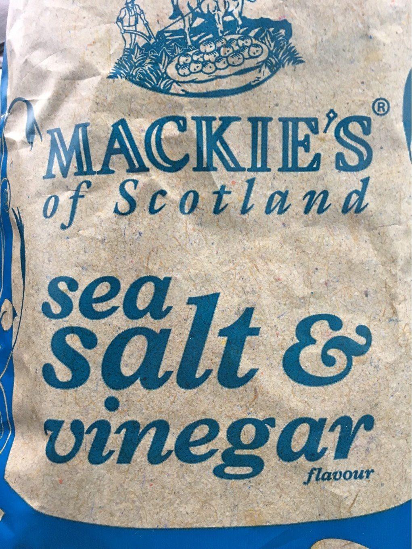 Mackie's Salt & Vinegar Thick Cut Crisps - Produit