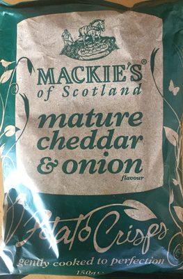 Mature cheddar & onion - Produit