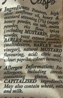 Honey & Mustard - Ingredients - en