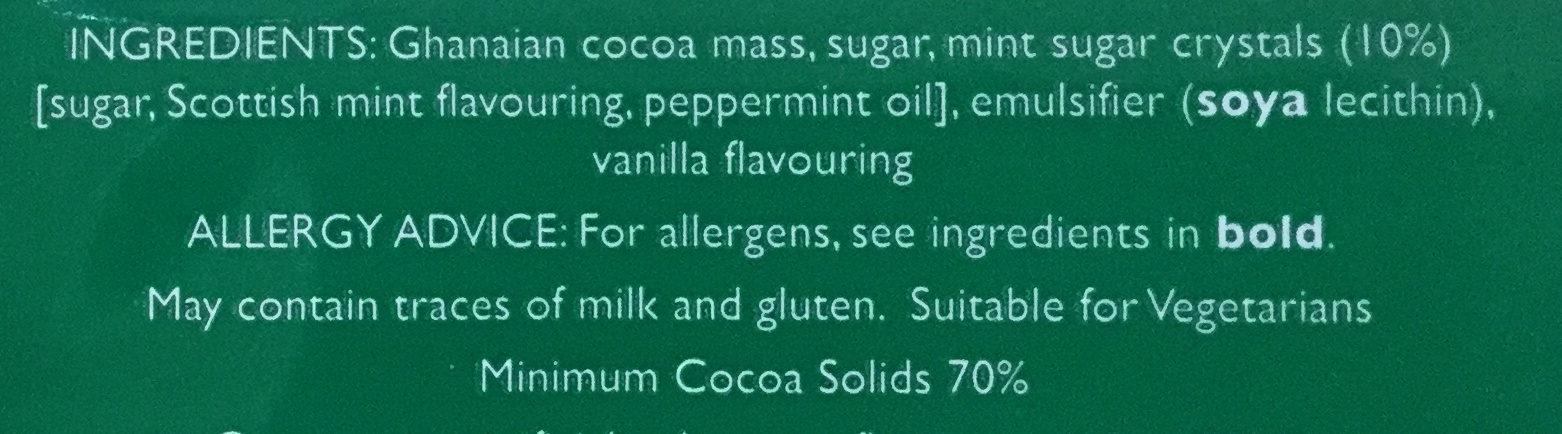 Mint - Ingredients - en