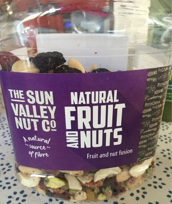 Sun Valley Natural Fruit & Nuts 1.1KG - Producte
