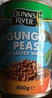 Gungo peas in salted water - Produit
