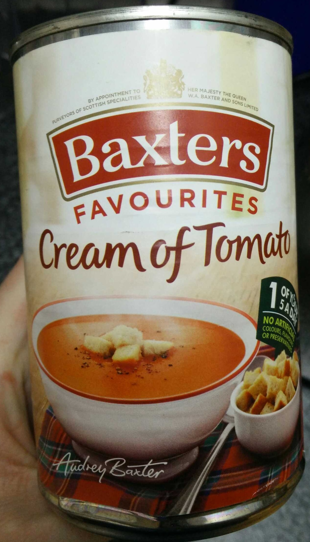 Cream of Tomato - Product
