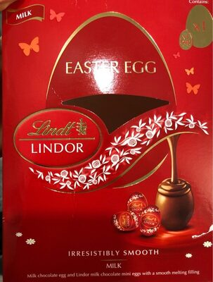 Lindt lindor easter egg - milk - Product