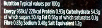 Caramelised Red Onion Chutney - Valori nutrizionali - en