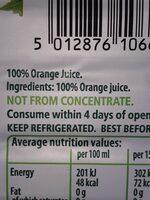 Fat Free Natural Yogurt - Ingrediënten - en