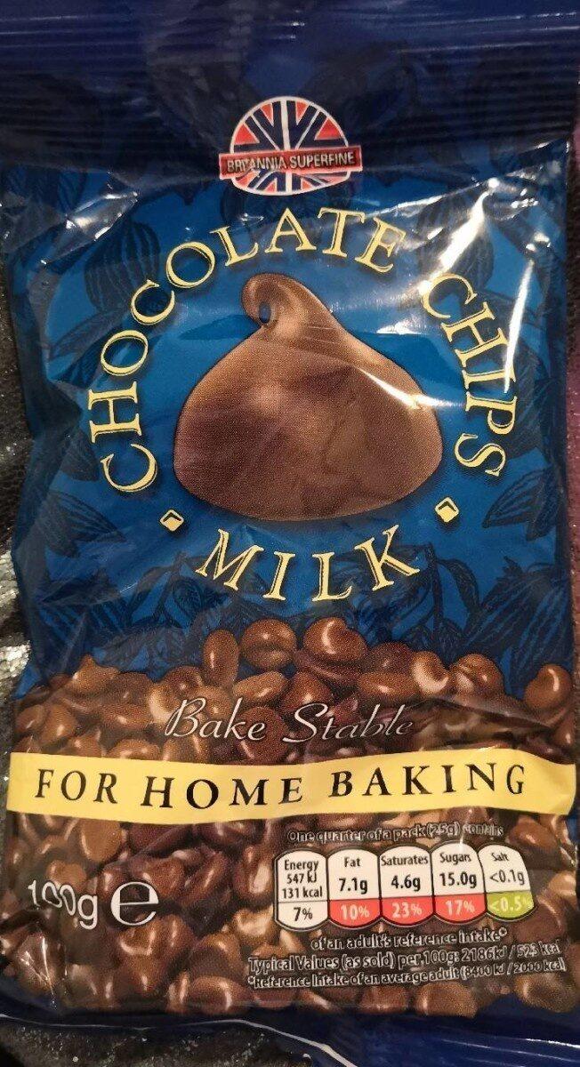 Milk chocolate chips - Product - en
