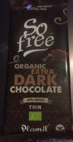 So free chocolate ecológico extra negro cacao - Product - fr