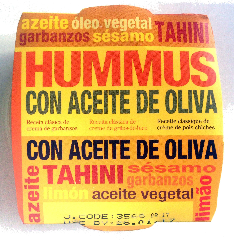 Hummus con aceite de oliva - Product - es