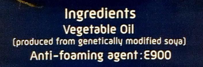 Vegetable Oil - Ingrédients - en