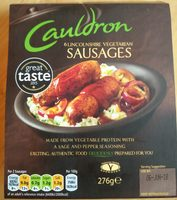 Lincolnshire sausages - Product