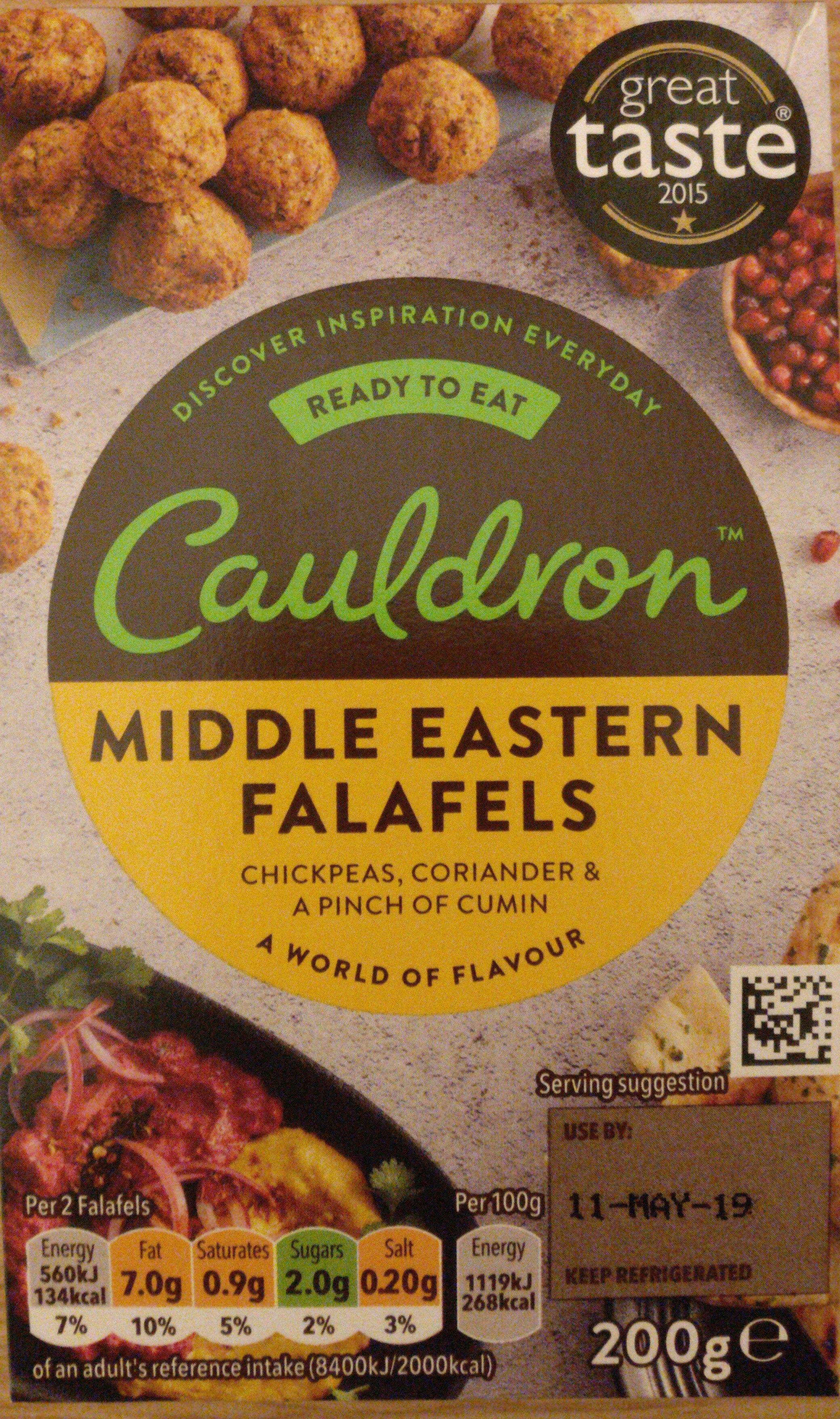 Cauldron Middle Eastern Falafels - Produit - en