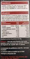 Super Granola - Valori nutrizionali - fr
