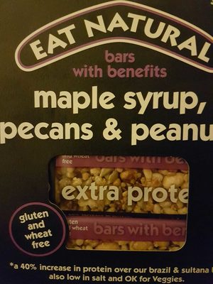 Eat Natural maple syrup, peacon and peanuts bar - 1
