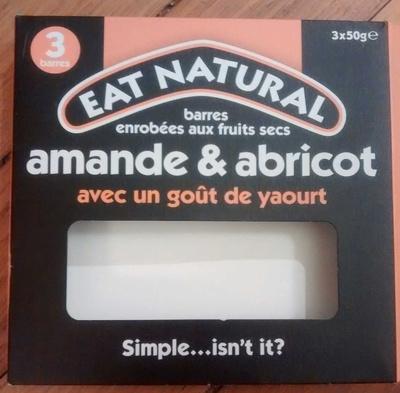 Barres enrobées aux fruits secs Amande & Abricot - Product - fr