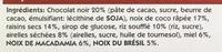 Bat fruits secs choco noir acec airelles et noix de macadamia - Ingrediënten - fr