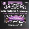Barres aux Fruits Secs Noix du Brésil & Raisin Sec avec Cacauètes et Amandes - Produit