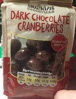 Dark chocolate cranberries - Prodotto - en