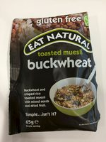 Eat Natural Gluten Free Buckwheat Toasted Muesli  - Product