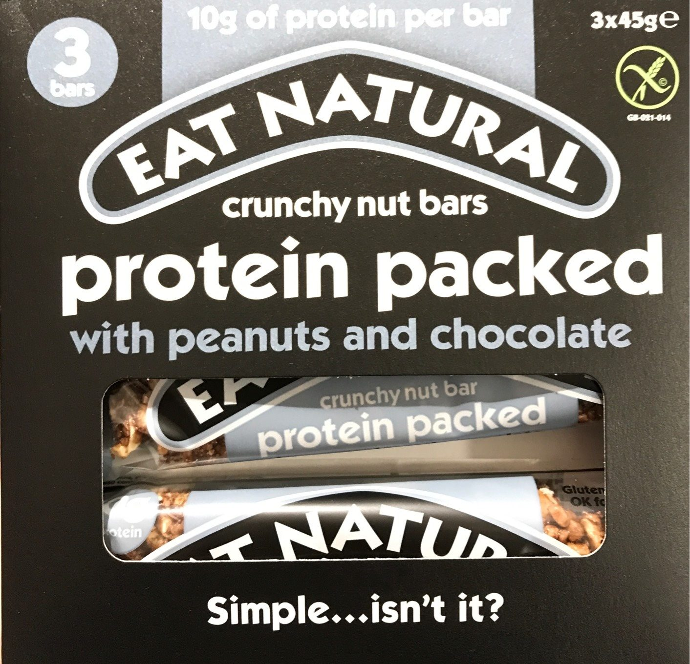 Crunchy nut bar protein packed - Product