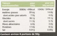 Eat Natural Super Granola - Informations nutritionnelles - fr