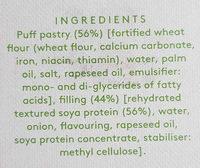 rolls - Ingredients
