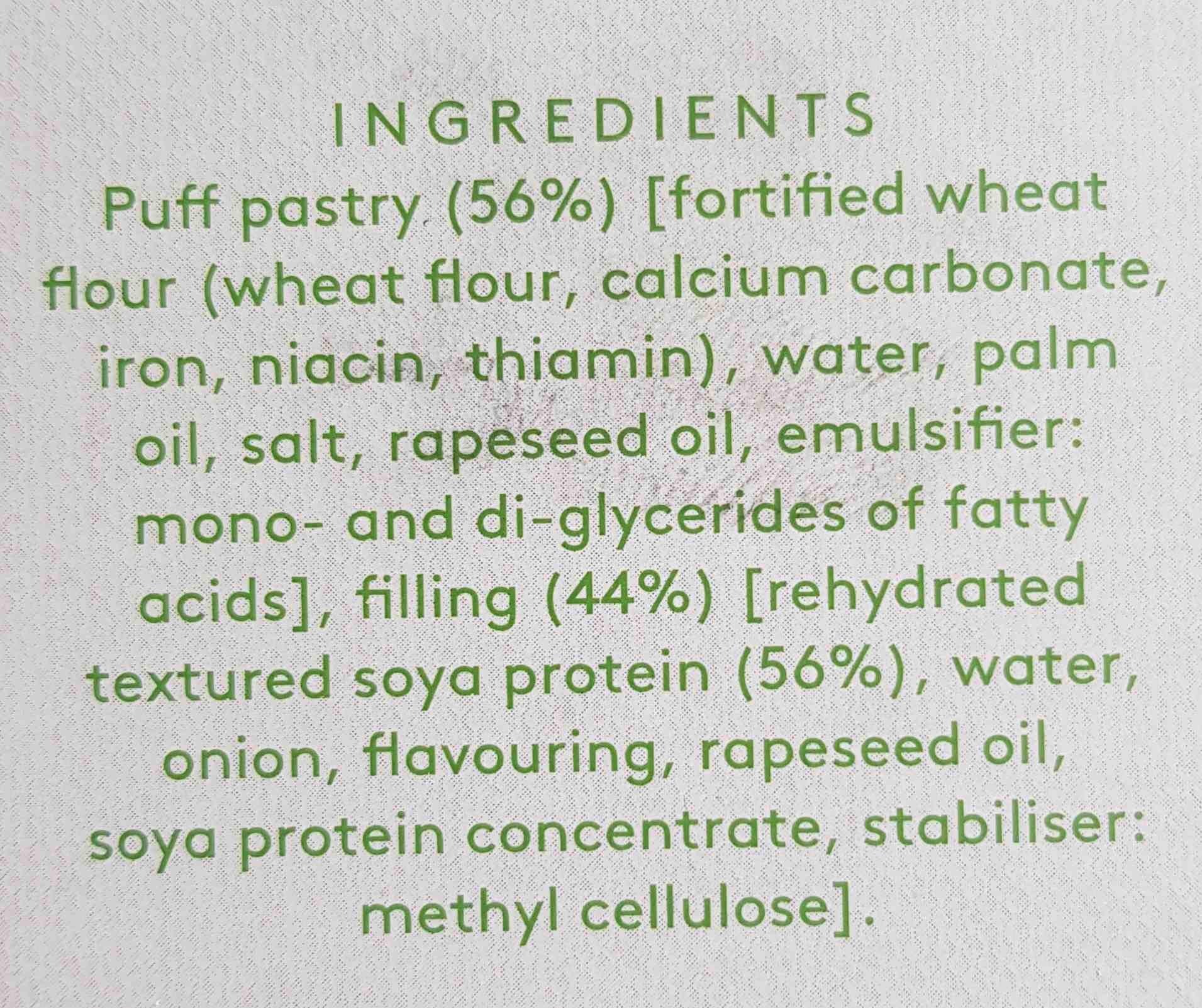 rolls - Ingredients - en