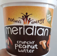 Meridian Crunchy Peanut Butter - Producto - fr