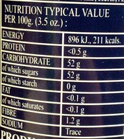 Rhapsodie de fruit Strawberry - Nutrition facts