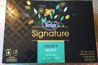 Signature Twisty Mint Sencha Green Tea - Produit - fr