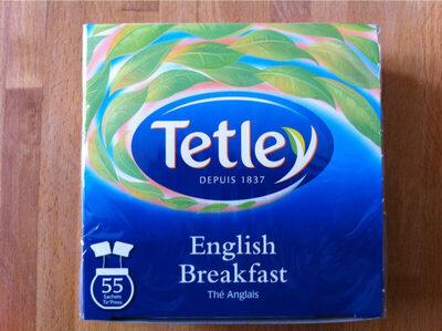 Tetley, The anglais, english breakfast , 55 sachets, 110 gr - Prodotto - fr