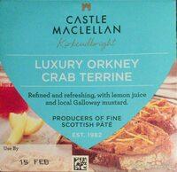 Luxury Orkney Crab Terrine - Produit - en
