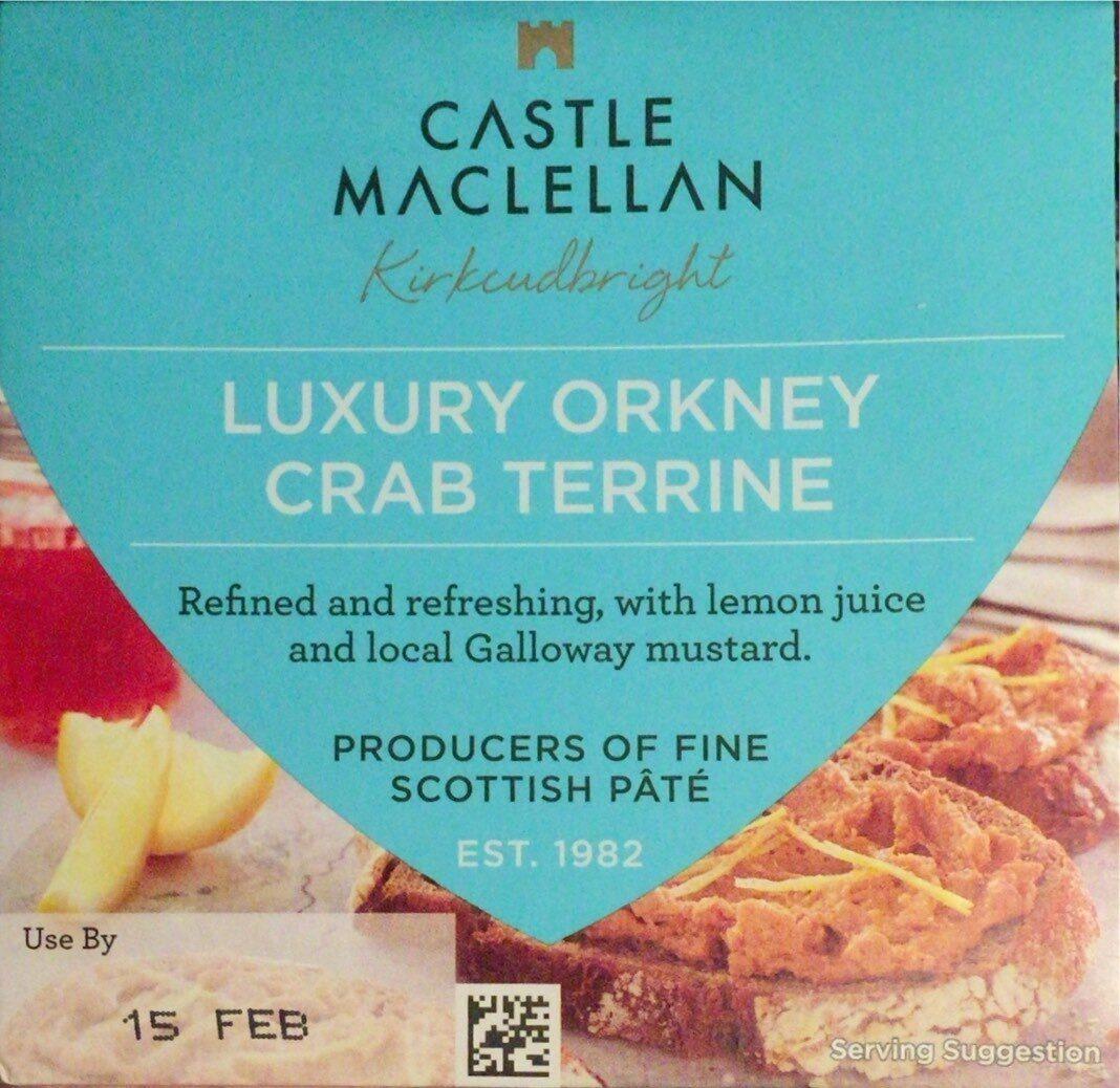 Luxury Orkney Crab Terrine - Product - en